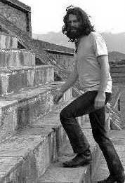 Ο τραγουδιστής επισκέφθηκε το Teotihuacán το 1969 (Φωτογραφία Διαδικτύου)