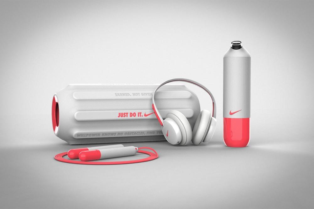 Συμπληρώστε τη ρουτίνα σας στο σπίτι με αυτό το σύστημα εμπνευσμένο από τη Nike. ΦΩΤΟΓΡΑΦΙΑ: