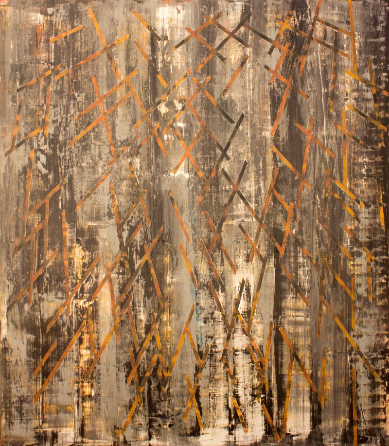 Comparte tu arte: textura y abstracción en la obra de Ricardo Pinto. FOTO: Cortesía