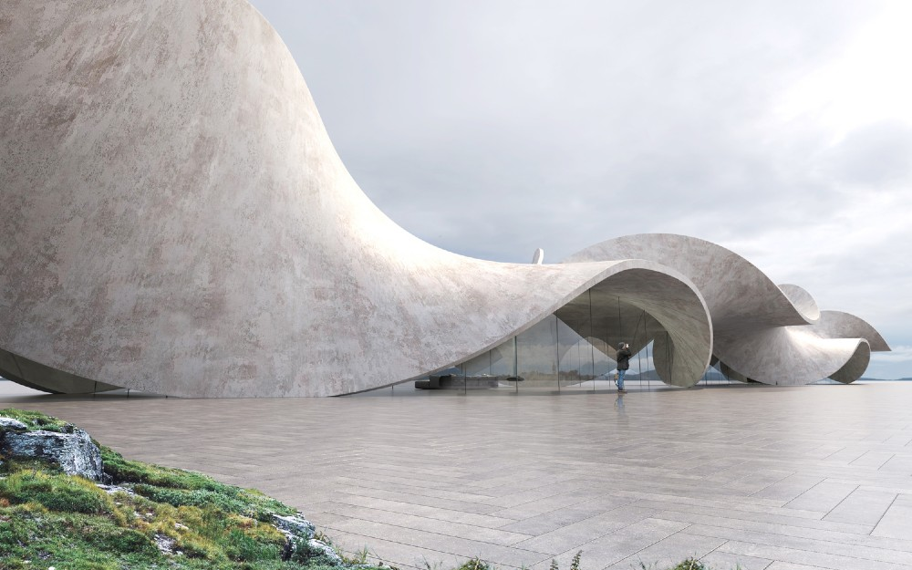 אנטוני גיבון הרמוניזציה בין העיצוב לטבעי בארכיטקטורה שלו. תמונה: antonygibbondesigns.com