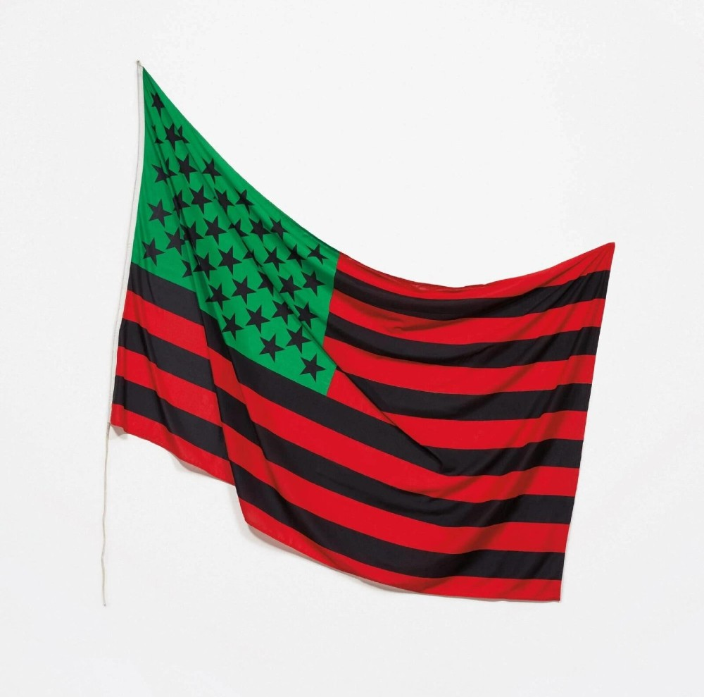 African American Flag, David Hammons