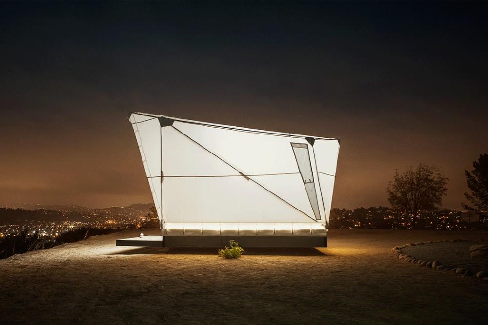 Jupe, la casita de SpaceX, Airbnb y Tesla para sumergirse en la naturaleza. FOTO: yankodesign.com