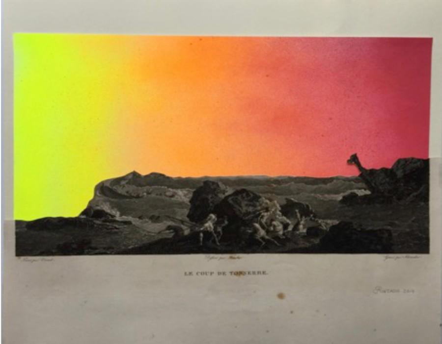Comparte tu arte: Delicadeza conceptual en los paisajes de Alejandro Pintado. FOTO: Cortesía