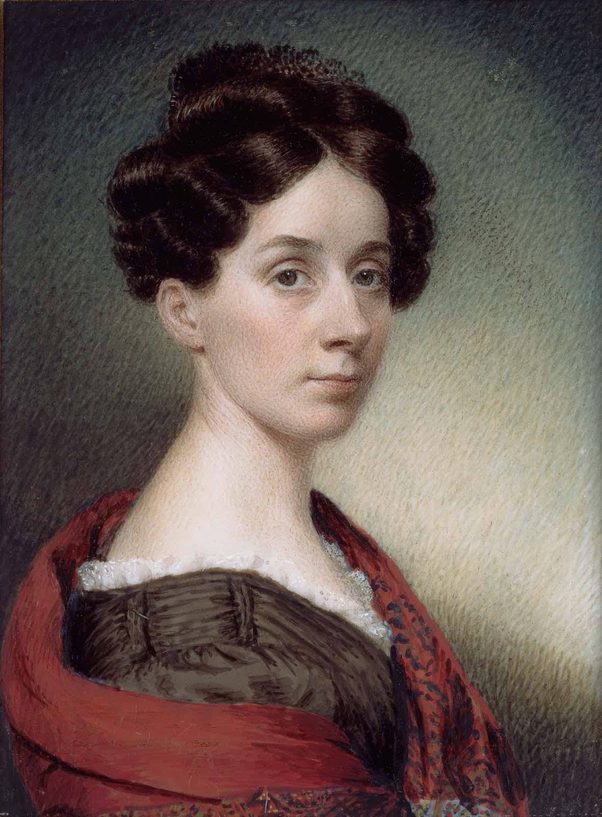 Sarah Goodridge amerikai miniatűr volt