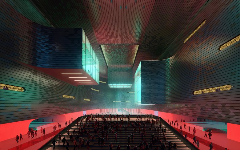Shenzhen Science & Technology Museum: Ode to Futuristic Architecture. PHOTO: Slashcube