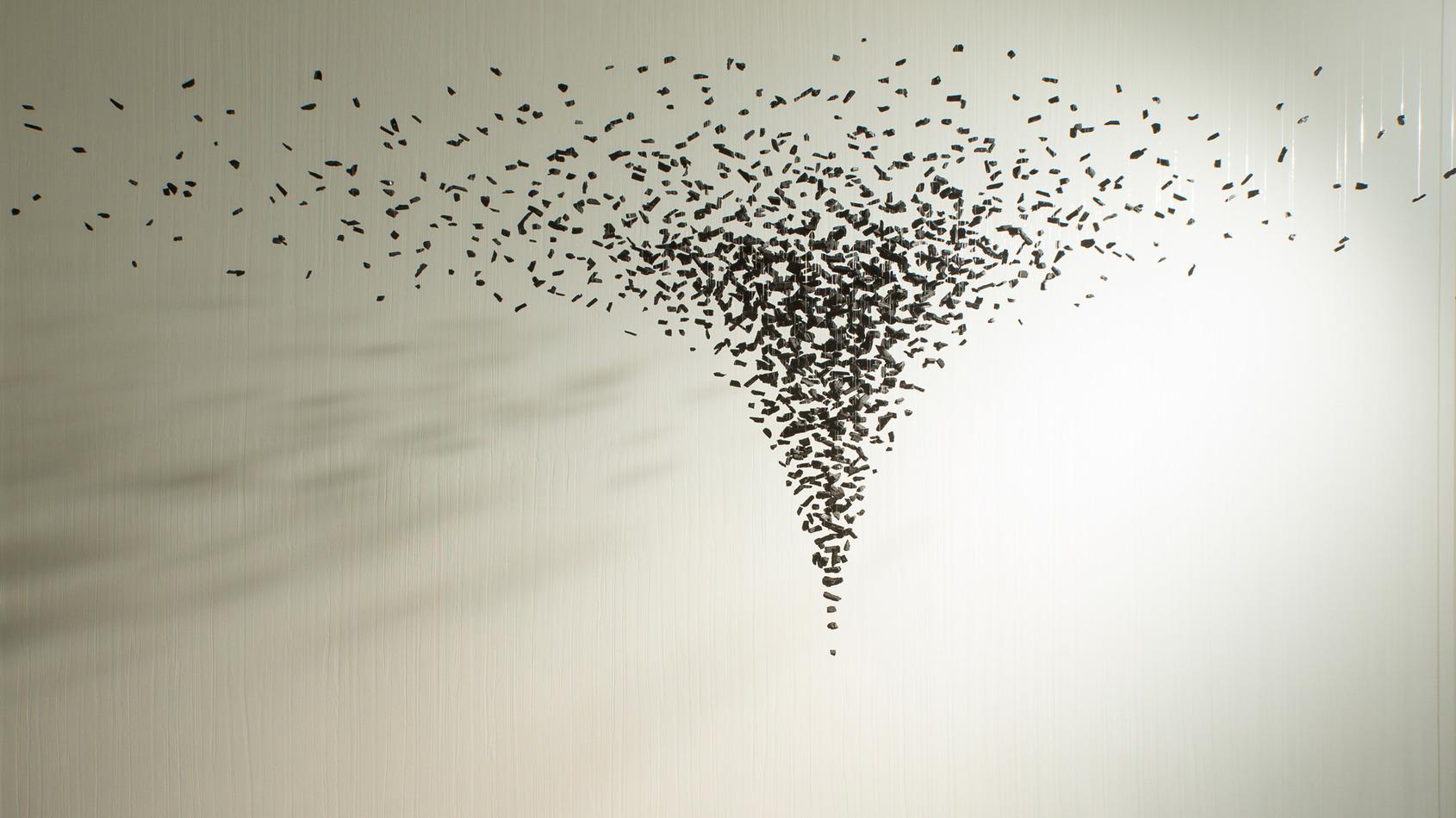 Bahk Seon Ghi, a felfüggesztett művészet koreai mestere. FOTÓ: Opera Galéria