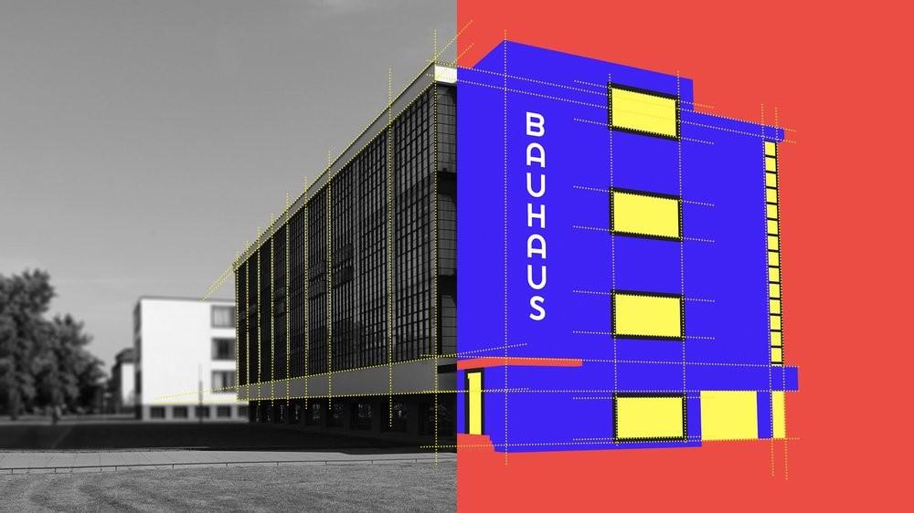 Características y legado de la escuela Bauhaus. FOTO: Pinterest