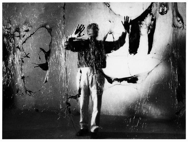 """Alberto Burri, Grande Plastica, Grottarossa (1962). © Aurelio Amendola. The exhibition """"Burri: la pittura, irriducibile presenza"""" is on view at the Fondazione Giorgio Cini in Venice"""