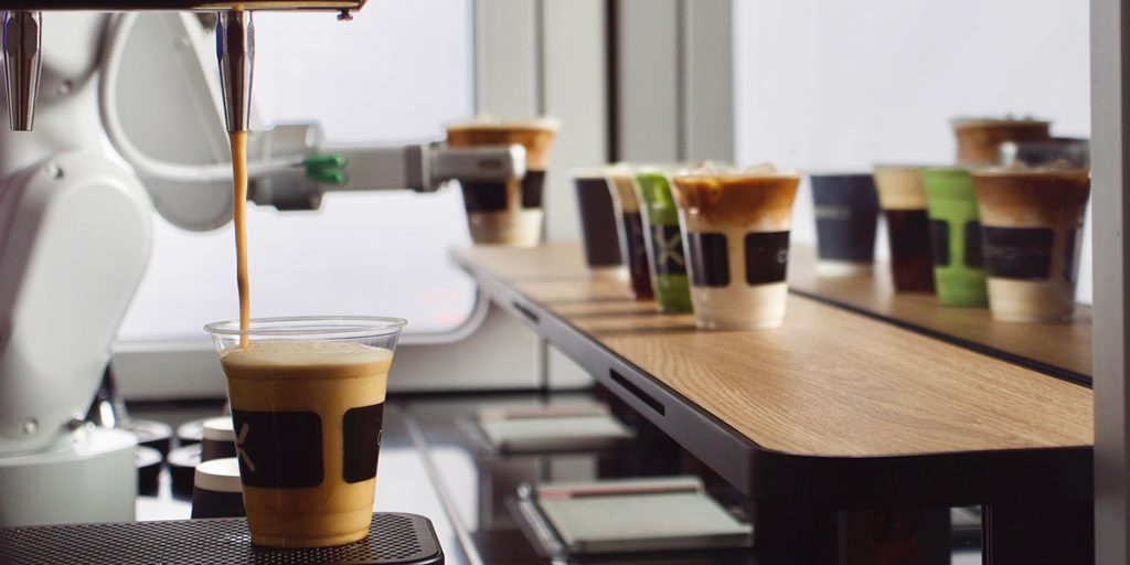 El barista robot será capaz de ofrecer varios tipos de bebidas calientes y frías
