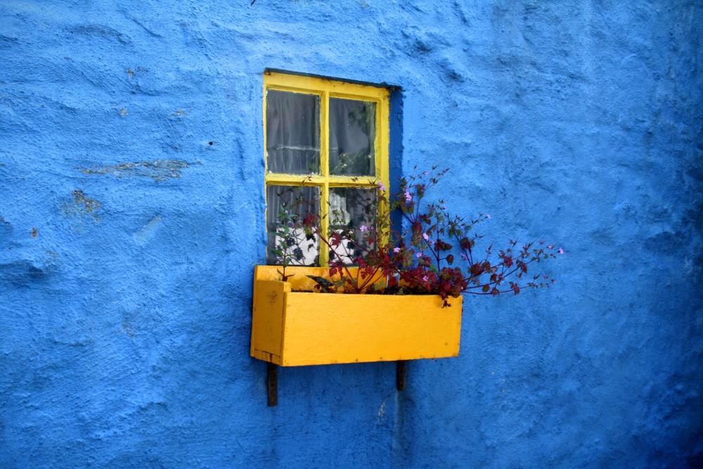 Fargen blå er relatert til ro og lykke. FOTO: Uplask