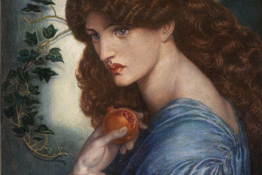 Proserpine (1878), Dante Gabriel Rossetti | apollo-magazine.com