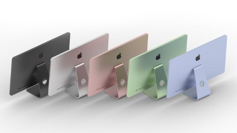 Detengan todo, 'llegan' las iMac de colores. FOTO: Twitter