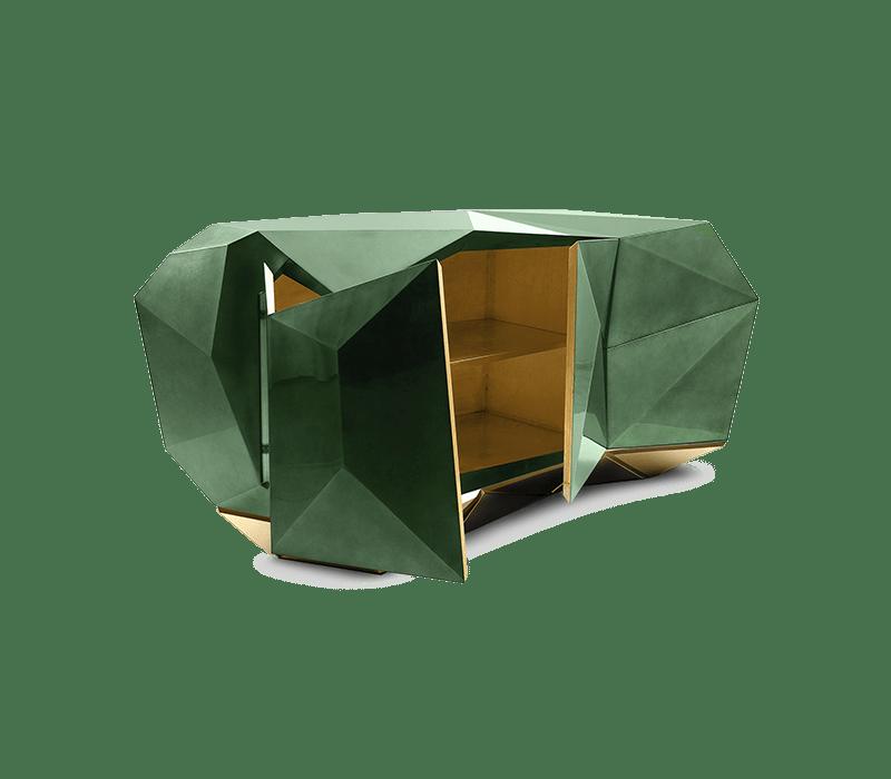 Boca do Lobo 시그니처 디자인은 다이아몬드 모양을 닮았습니다. 사진 : Boca do lobo