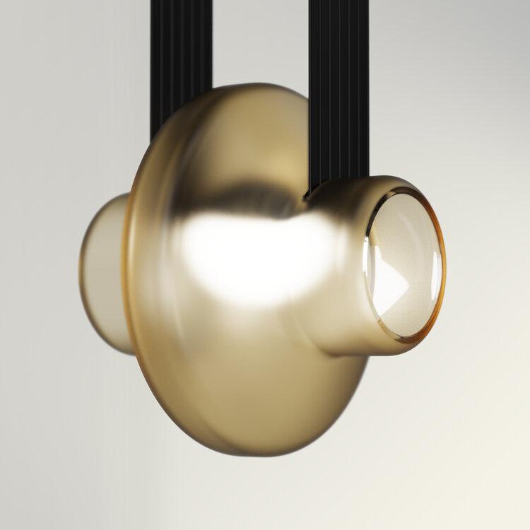 Precisie en poëzie in deze door de natuur geïnspireerde lamp. FOTO: darmes.ca
