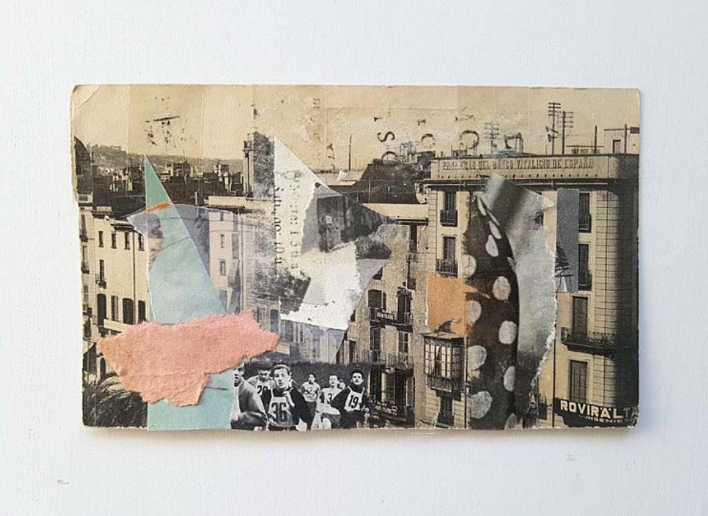 Η Eugenia Conde είναι ένας εικονογράφος της Αργεντινής που ειδικεύεται στο κολάζ. ΦΩΤΟΓΡΑΦΙΑ: Eugenia Conde