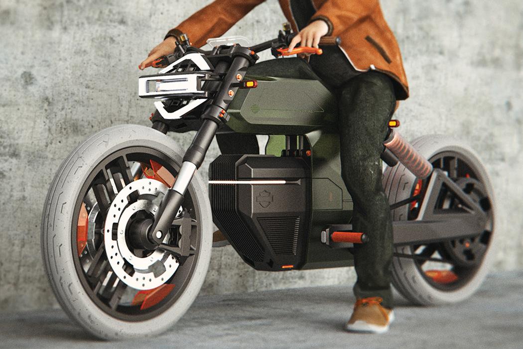 La tesis del estudiante de diseño plantea que la marca de motocicletas está en declive. FOTO: tannervandeveer.com