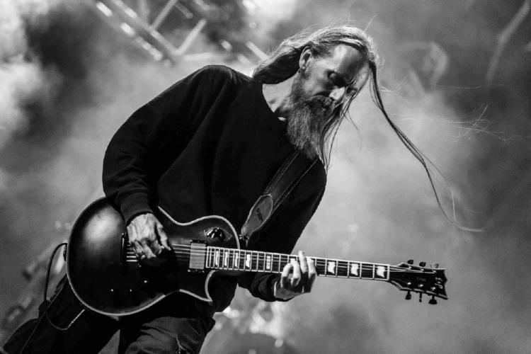 Swaarmetaal. 'Ihsahn' Tveitan, kitaarspeler van die Noorse band Emperor. FOTO: Wikimedia Commons