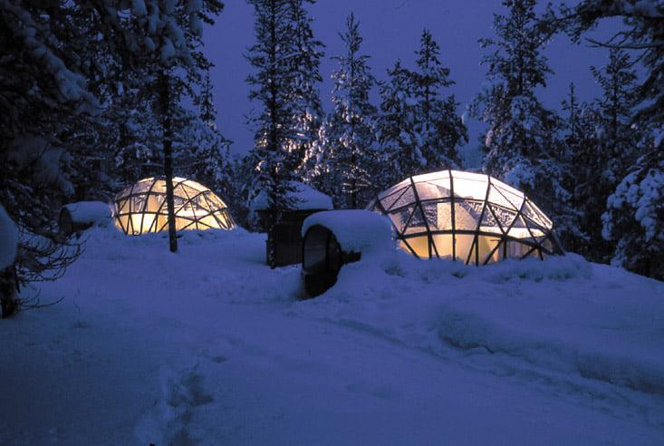 Hoteles para vivir experiencias increíbles en la nieve