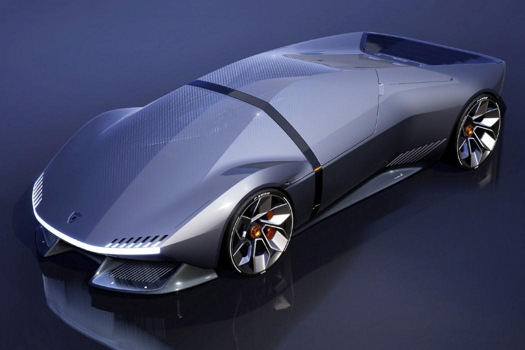 Lujo e innovación en este modelo eléctrico de Lamborghini. FOTO: yankodesign.com