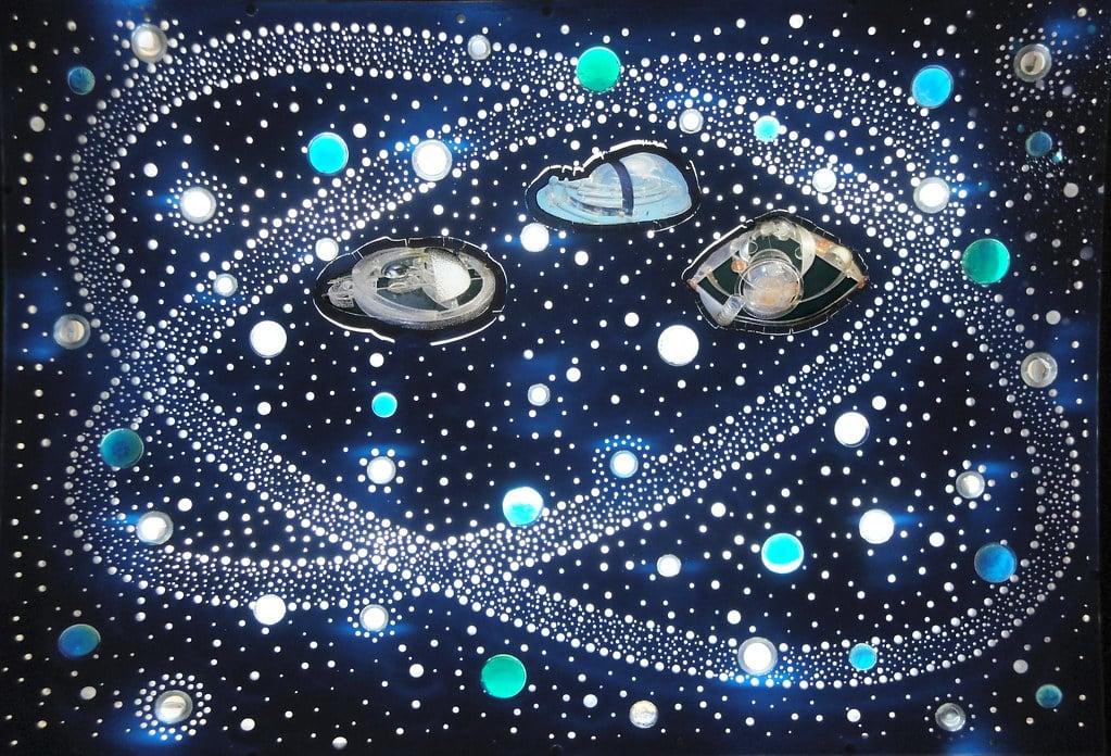 בתי גידול הידרו-מרחביים בקבוצת הכוכבים של אירינה, 2009. מקור: מוזיאון קושיצה.