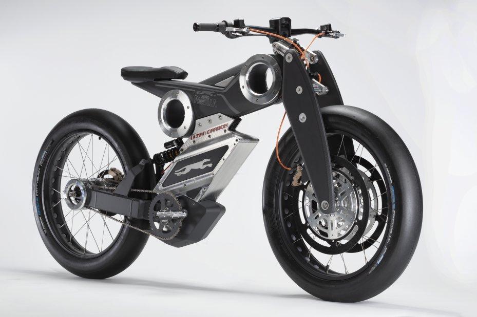 कारबोन डी मोटो पैरीला, सबसे बेतहाशा ई-बाइक। फोटो: motoparilla.it