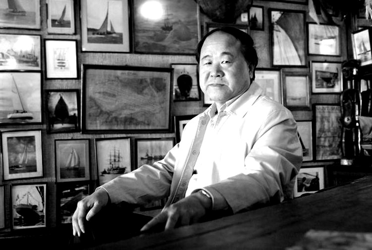 El escritor chino Mo Yan nació un 17 de febrero de 1955