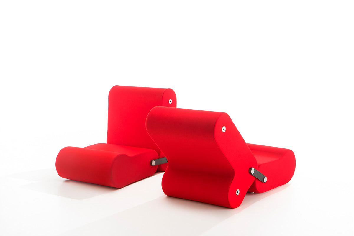 De veelzijdige stoel bestaat en is een creatie van Joe Colombo. FOTO: Joe Colombo