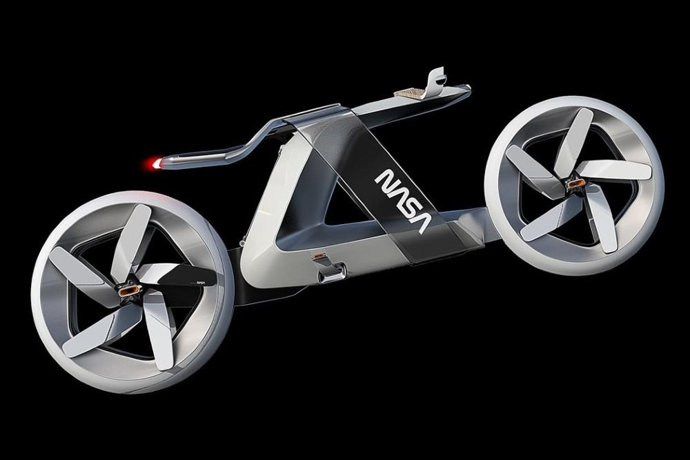 Esta es la bicicleta de la NASA con la que podríamos pasear en Marte. FOTO: Symon Grytten