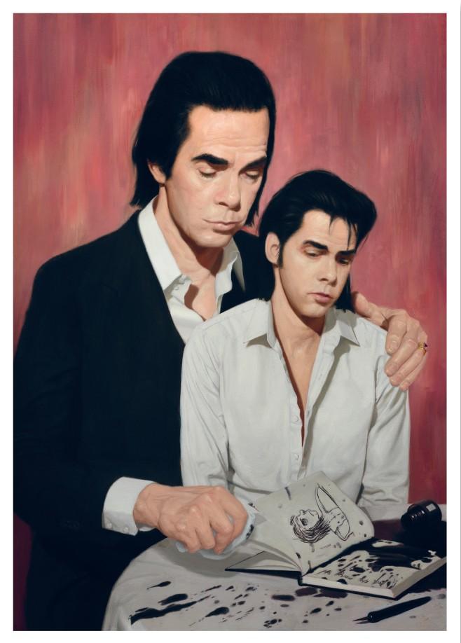 Affiche voor de tentoonstelling Vreemdeling dan vriendelijkheid. FOTO: nickcave.com