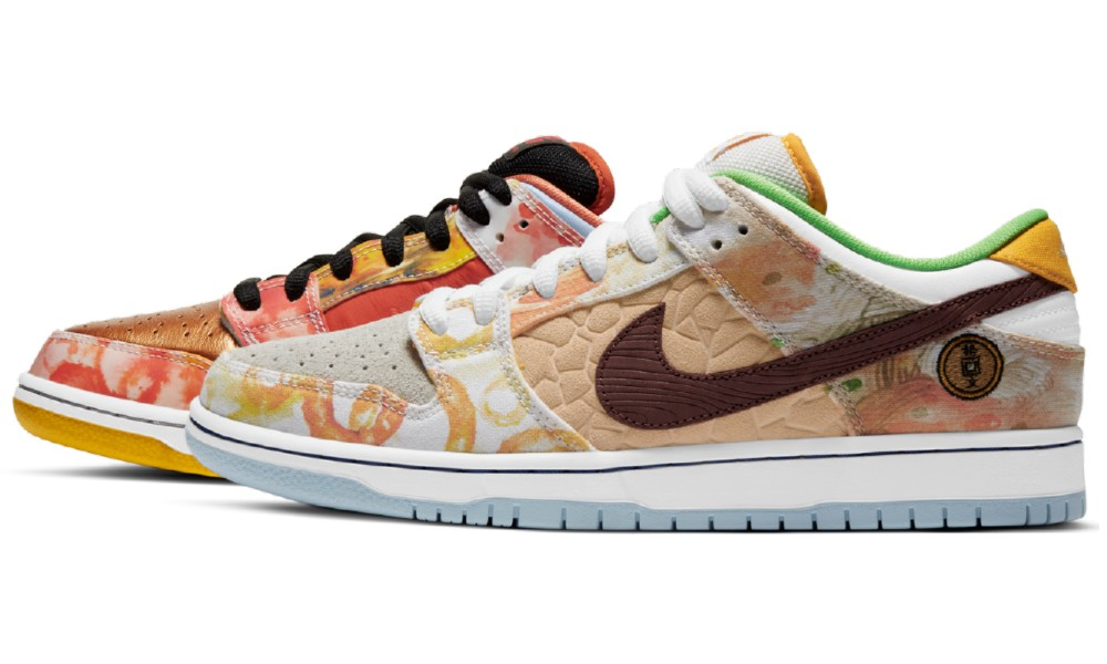 Seis ciudades, seis alimentos, un par de tenis Nike. FOTO: nikesb.com