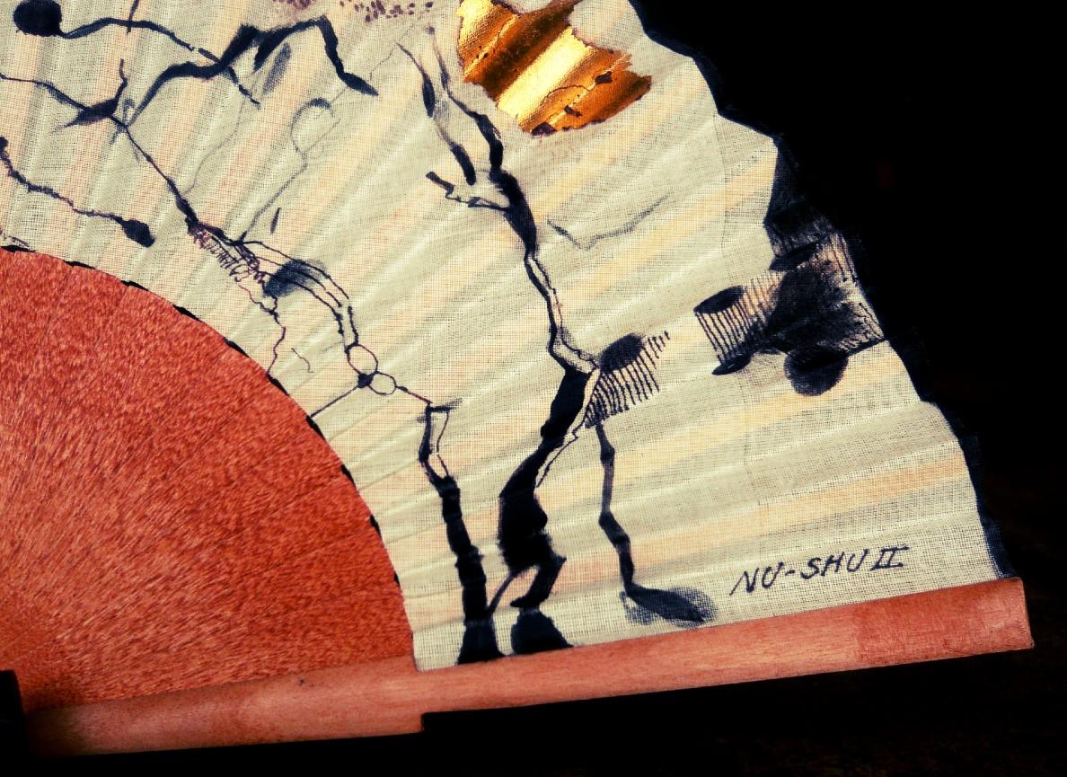 A Nü Shu az egyetlen írás, amelyet a nők készítettek és használtak. FOTÓ: Pinterest