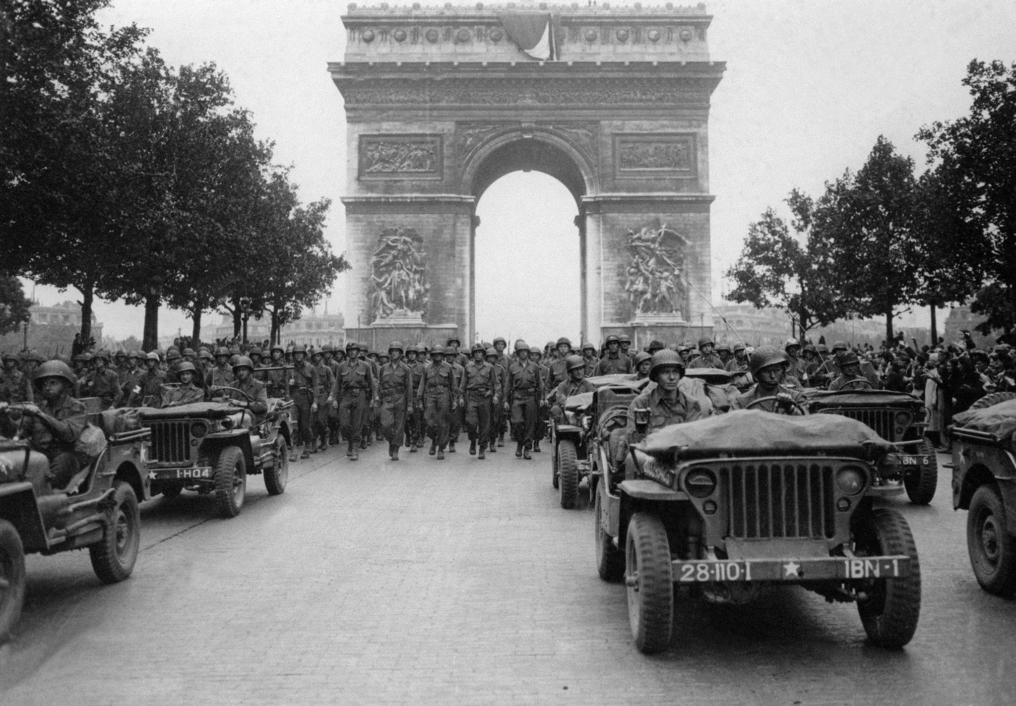 Párizs felszabadítása 1944 augusztusában volt a szövetséges erők részéről, amely befejezte a második világháborút