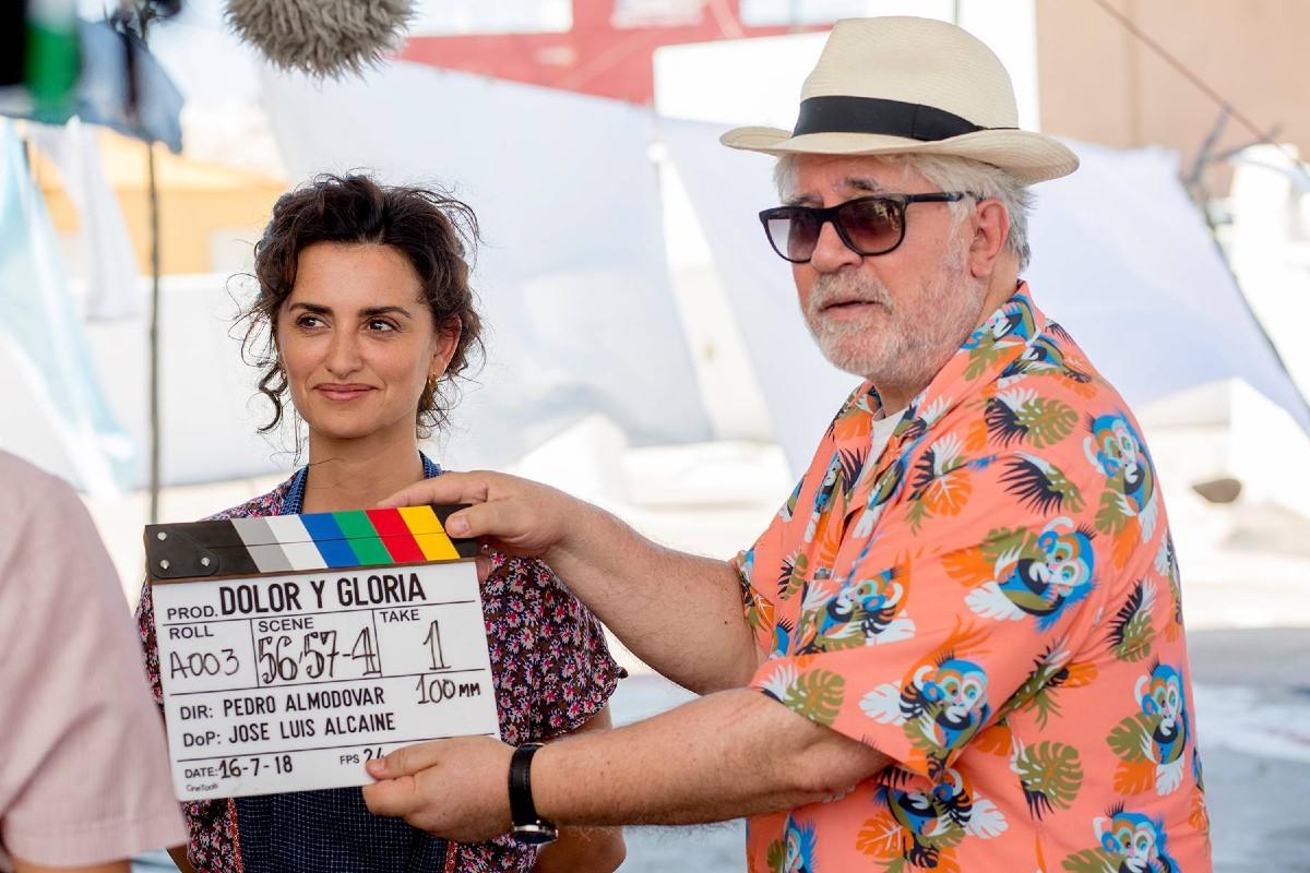 Pedro Almodóvar and Penélope Cruz. PHOTO: El Deseo Productions