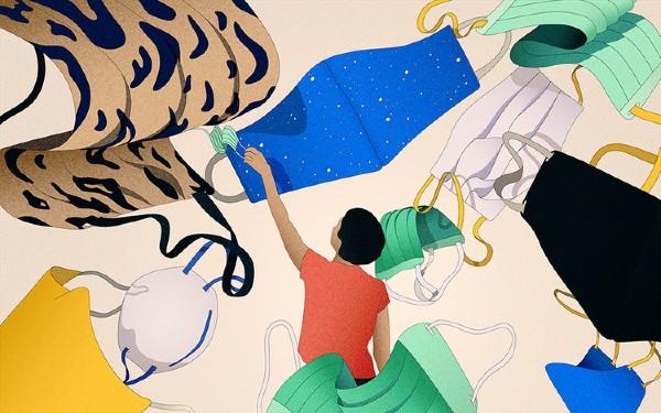 Peter Gehrman es un joven ilustrador que colabora para revistas de moda y estilo, y periodismo