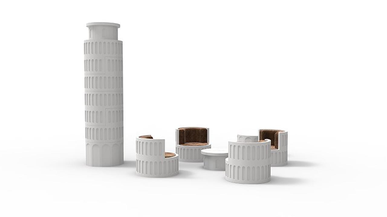 La Torre de Pisa a tus pies con este diseño de Yongwook Seong. FOTO: designboom.com