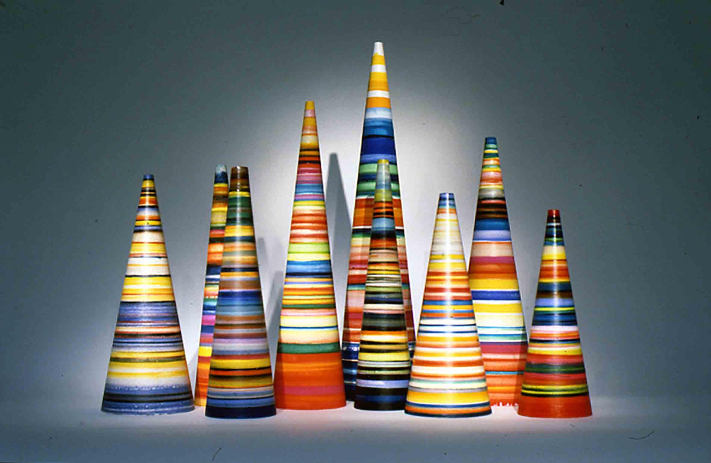 Striped Koans, 1995. Fuente: Espaivisor Gallery
