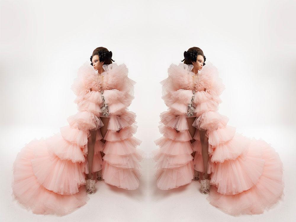 Gianbattista Valli, εκκεντρότητα και γοητεία στη συλλογή Couture Spring 2021. ΦΩΤΟΓΡΑΦΙΑ: vogue.com
