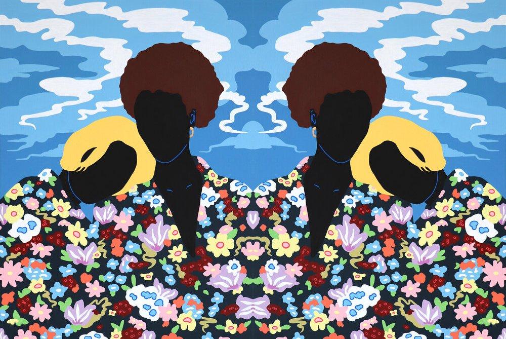 El mundo solidario y colorido de Olivié Keck. FOTO: liviekeck.com