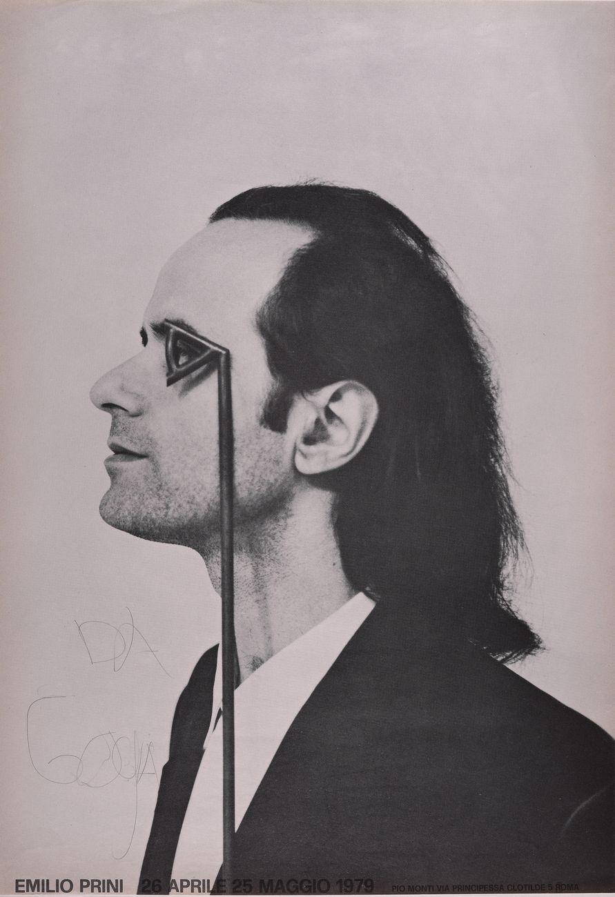 Emilio Prini fue un autor de la corriente del arte povera (Foto: Emilio Prini, Manifesto, 1979. Collezione La Gaia, Busca)