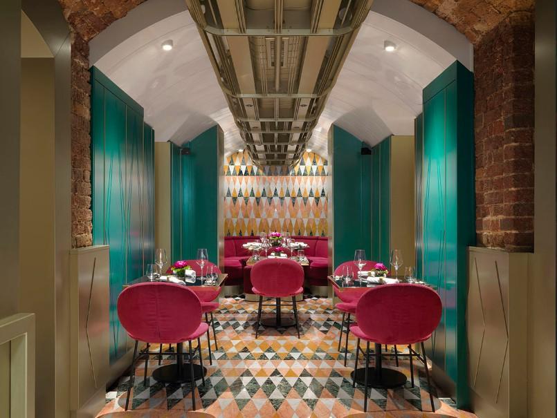 VyTA - ресторан с итальянским дизайном и меню в самом сердце Лондона.