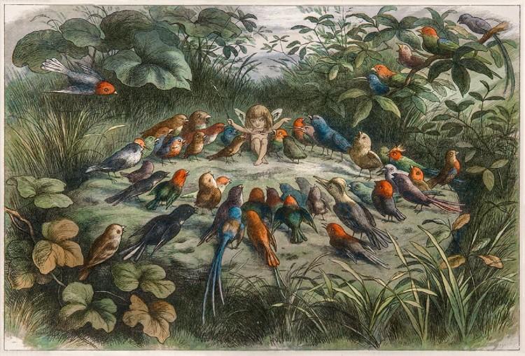 Richard Doyle fue un ilustrador de la época victoriana