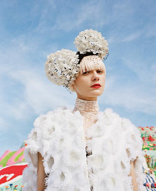 Shirley Kurata: retratos de glamour y fantasía. FOTO: shirleykurata.squarespace.com