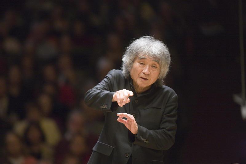 Seiji Ozawa. Foto: BOSTON SIMFONIEORKES