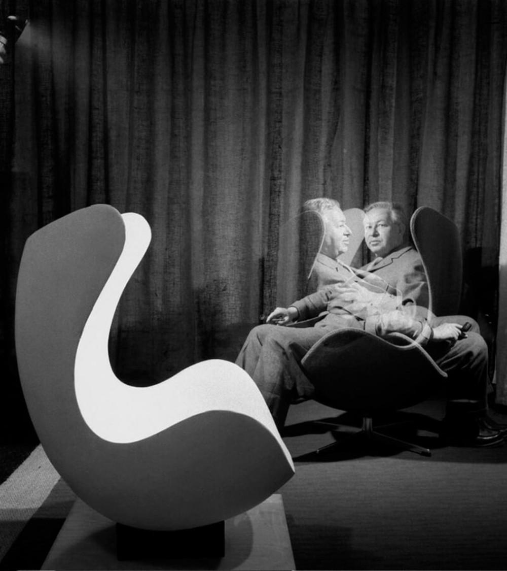 Arne Jacobsen, grunnlegger av dansk modernistisk design. FOTO: Creative Commons
