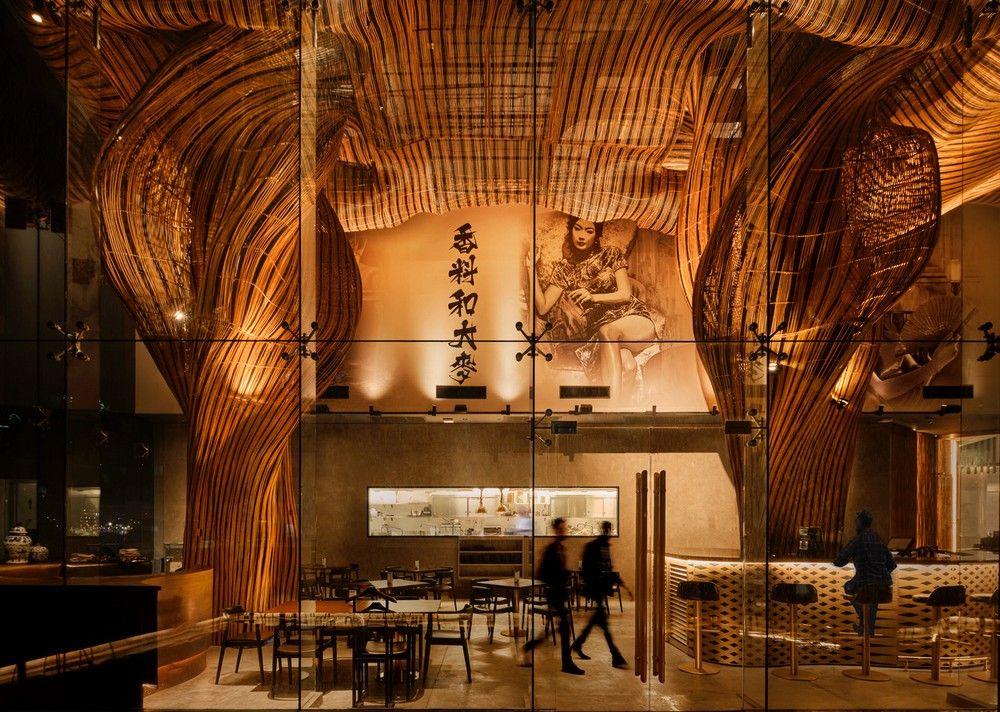 Spice & Barley, a fogyasztás és a kedélyesség kifinomult fogalma a folyó mentén. FOTÓ: e-architect.com