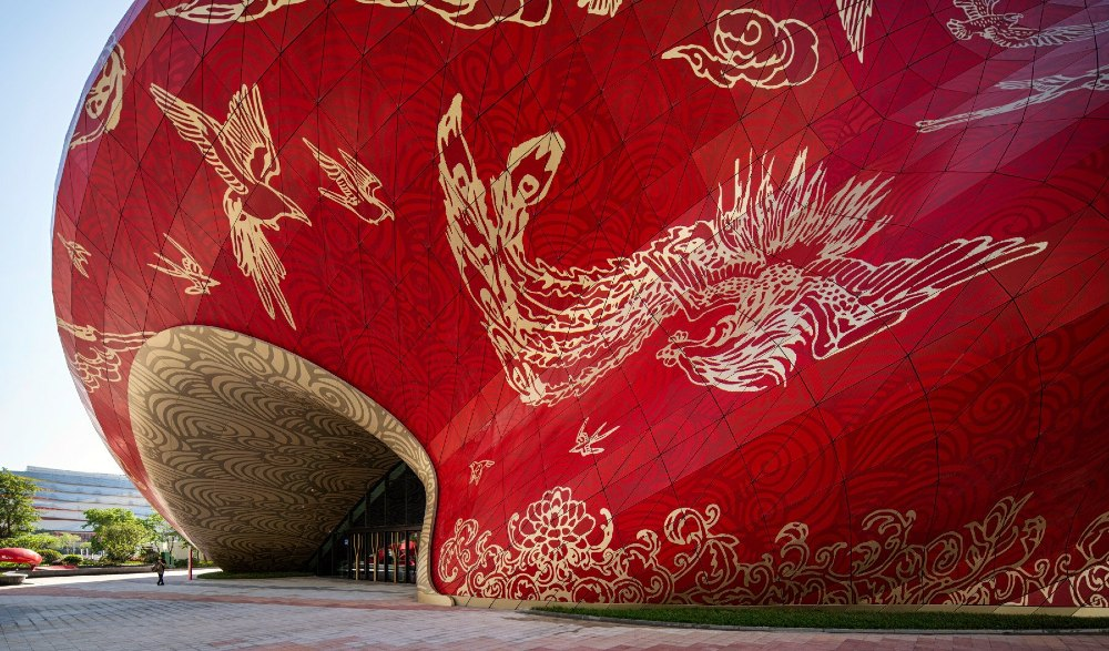 Guangzhou Theater, architectural ode to silk. PHOTO: Designboom