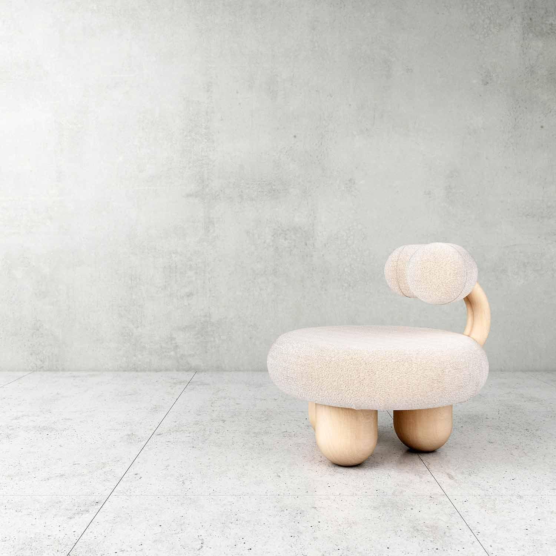 Bling Bling: een kleine stoel, voor een goede nachtrust. FOTO: pietro-franceschini.com