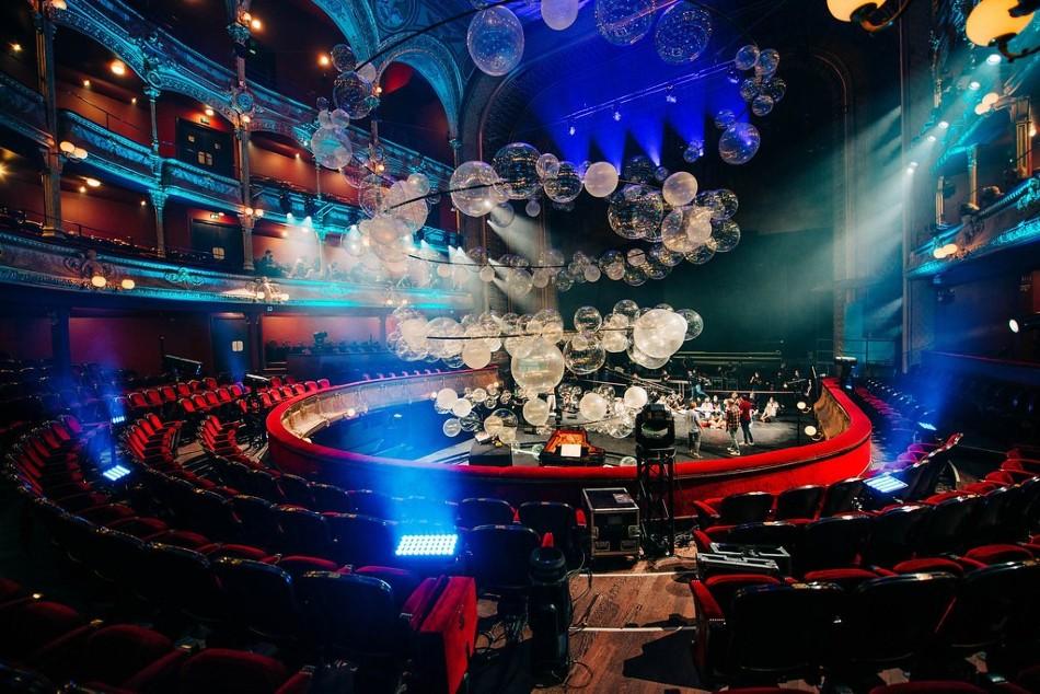 """En el Théâtre du Chatelet se lleva a cabo """"Variaciones"""", una propuesta de instalación y música"""