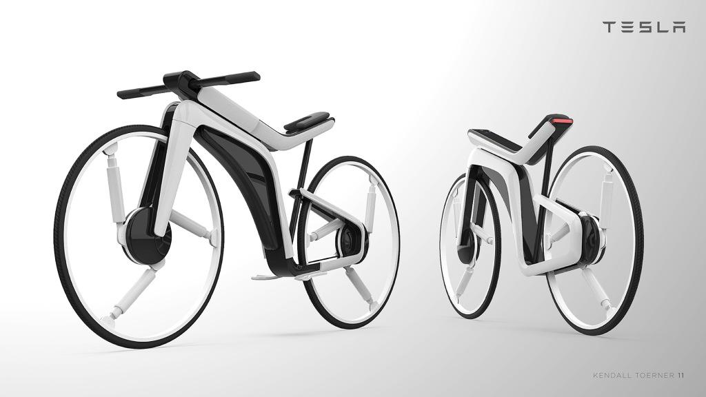 Lo mejor de dos mundos: Así luciría la bicicleta eléctrica de Tesla. FOTO: wwwhatsnew.com