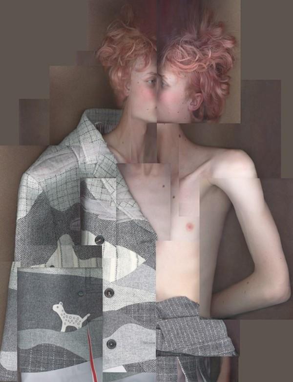 Thom Browne's eerbetoon aan maatwerk en genderneutraliteit. FOTO: AnOther Magazine